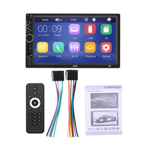 """2Din Car 7"""" MP5 Player Radio AUX Audio Support Cell Phone ios/Android MirrorLink"""