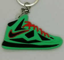Porte cles NIKE AIR LEBRON 10 cutting jade Keychain Sneakers accessories