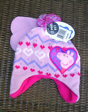 """""""SPECIAL PRICE""""  """"PEPPA PIG""""  INFANT/TODDLER  GIRL'S HAT AND MITTENS SET   NWT"""