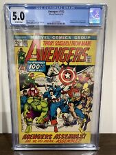 AVENGERS 100 CGC 5.0 ALL PAST AVENGERS APPEAR IN STORY