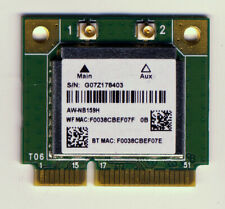 AzureWave AW-NB159H mini PCIe WiFi and Bluetooth Card. Fully tested