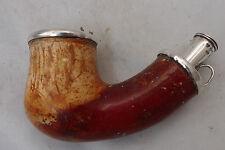 Huge Antique Swedish Meerschaum Pipe Bowl 1854 A611017