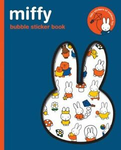 NEW Miffy Bubble Sticker Book By Miffy Paperback Free Shipping