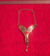 Tail Pendant & Teardrop Nautical Gold Plated Whale