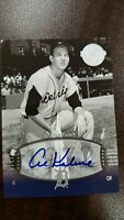 2004 AL KALINE Auto  SP #72 UD Timeless Teams   Short Print  !
