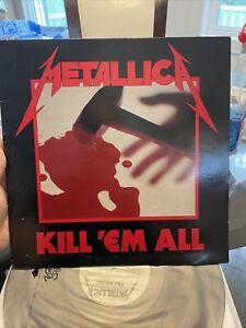 Metallica Kill Em All OG Megaforce Vinyl LP 1st Variation Gray Label NM- Vinyl!!
