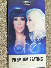 Classic Cher At Park Theater Vegas Nov 3 2018 Orig 3-D Lenticular Credential