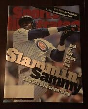 SPORTS ILLUSTRATED SAMMY SOSA IS ON A RECORD HOME RUN BINGE JUNE 29,1998