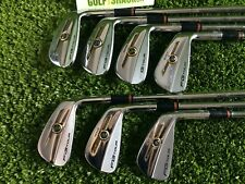 Wilson FG Tour 100 Forged Irons 4-Pw Dynmaic Gold X100 Extra Stiff Shafts (5345)