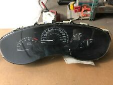1999 CHEVROLET MALIBU speedometer instrument cluster