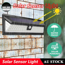 86led Solar Sensor Light Garden Security Lighting Motion Outdoor Wall Lamp