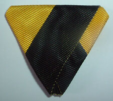 MEDAL RIBBON-GOOD TRIFOLDED RIBBON AUSTRO-HUNGARIAN MILITARY VETERANS CROSS