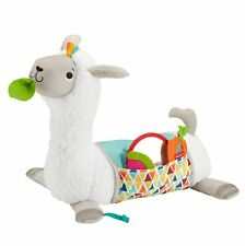 N 00006000 ew listing New Fisher Price Grow With Me Tummy Time Llama Floor Play Mat