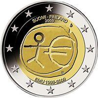 Ek // 2 Euro Commémorative Finlande * Pièces Neuves * Sélectionnez une pièce