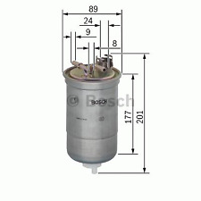 Kraftstofffilter - Bosch 0 450 906 374