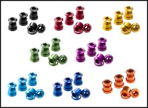 REVERSE Kettenblattschrauben-Set (4 Stück), inklusive 4 x 2,5mm Spacer