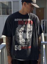 Michael Jackson King Of Pop 1958-2009 Graphic Tee Cotton Shirt Xxl