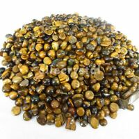 1/2lb Natural Bulk Gold Tiger Eye Tumbled Stones Crystals Reiki Healing Gemstone