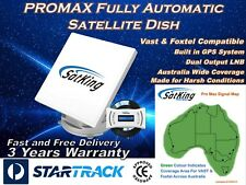 SatKing Promax Fully Automatic Motorised Satellite TV System Foxtel Vast Caravan