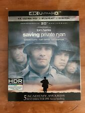 Saving Private Ryan (4K Ultra Hd Blu-ray, Digital, Blu-Ray, Slipcover)