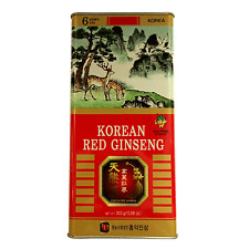 100% 6Year Korean Red Ginseng Roots 300g Raw Oversize Grade panax Goryeo ginseng