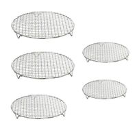 Stainless Steel Kitchen Steaming Cooking Grilling Rack Air Frying Pot Accessory