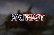 Bogo Patriqt Qanon Decal Patriot Q Anon Sticker wwg1wga