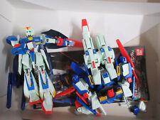 Bandai Gundam Plastic Model Kits Z + ZZ + SD Sangokushi and Loose Pieces