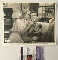 Fred MacMurray Signed Autographed 8x10 Photo JSA Certified