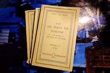The 120 Days of Sodom or: The Romance of The School for Libertinage