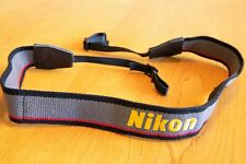 Vtg Nikon (logo) Neck Strap For 35mm Film SLR Rangefinder DSLR Camera, 80s Style