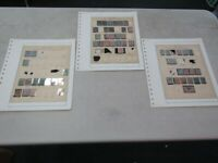 Nystamps France Office in China old stamp collection Album page