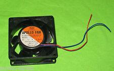 Apollo fan ventilateur Boîtier ventilateur DC Brushless td80b4h-5 12v 0,24a 80mm