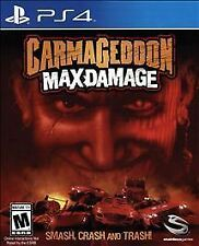 NEW Carmageddon: Max Damage PS4*Playstation 4*Fun Smash Crash Trash Wreck Cars*