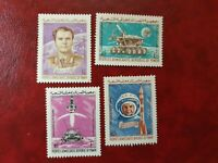 Yemen - 1976 -  Space  Research  - 4 stamps (full set) - MNH