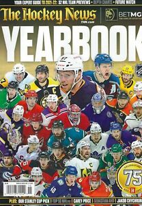 The Hockey News Magazine 2021 Projections Top 50 Players YEARBOOK 2021-2022
