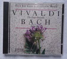 VIVALDI THE FOUR SEASONS BACH: SUITE NO 2 CD