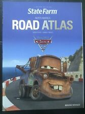 *RAND McNALLY NORTH AMERICA ROAD ATLAS* LIMITED EDITION DISNEY- PIXAR CARS 2