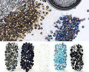2.3 mm Microbead Culet Diamond crystal/Mini chatons/ Mini rhinestones nail art