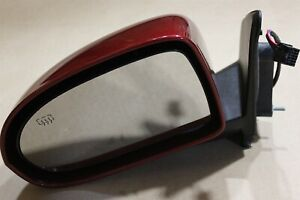 OEM Factory Driver-Side Door Mirror Mopar Power Heated Glass Painted Cherry Red