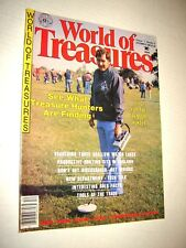 World Of Treasures Magazine December 1982 Treasure Hunting -Coins-silver-gold