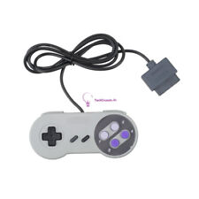 16 Bit Controller for Super Nintendo SNES System Console Control Pad Gamepad
