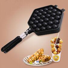Egg Waffle Cake Pan Bubble Iron Pan Baking Mold Food Plate Nonstick
