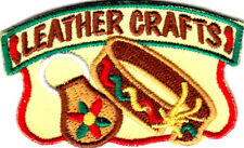 LEATHER CRAFTS Iron On Patch Crafts Hobby Skills