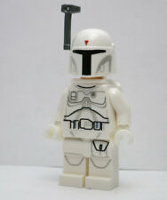 White Boba Fett From Star War Character Encyclopedia Book LEGO Minifigure Figure