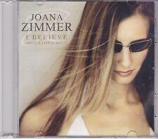 Joana Zimmer-I Believe Promo cd single