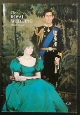 ROYAL WEDDING OFFICIAL SOUVENIR  1981