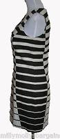 New Womens White & Black NEXT Dress Size 10 DEFECTS