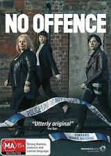 No Offence : Season 1 (DVD, 2016, 2-Disc Set) All Region  - Police Show (D182)