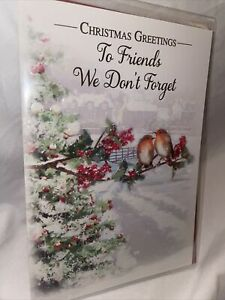 Friends We Dont Forget Christmas Card - 4 styles